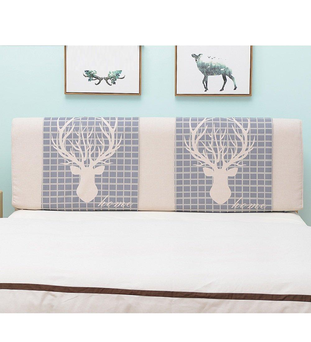 LIQICAI Moderne Accueil Tête de lit Coussin Dossier Soutien pour Unique - Double - Grande taille- Lit Têtes de lit