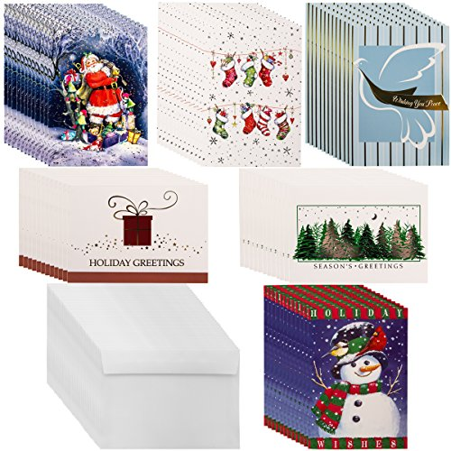 Boxed Christmas Cards Snowman - 5