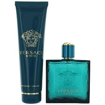 Image Unavailable. Image not available for. Color  Versace Eros By Versace  2 Piece Gift Set-3.4 Oz Eau De Toilette Spray 7909c66bd09c4