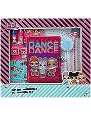 Undercover LOLO4470 L.O.L. Surprise Glitter dagboekset voor kinderen, meerkleurig
