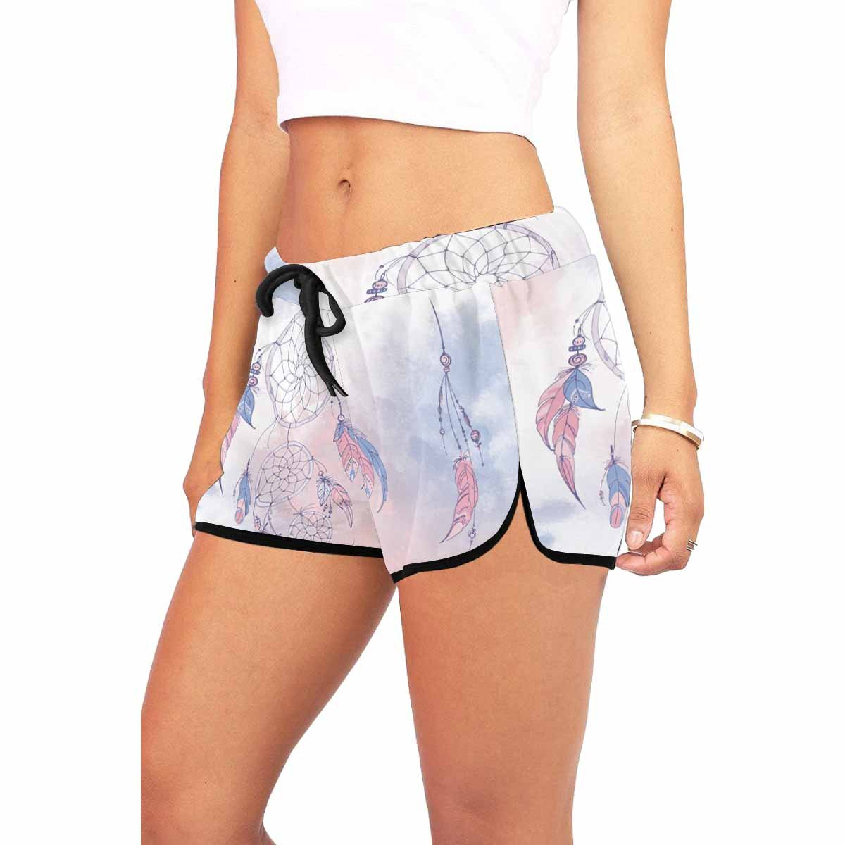 XS-XXL INTERESTPRINT Womens Sport Gym Pants Casual Loose Shorts