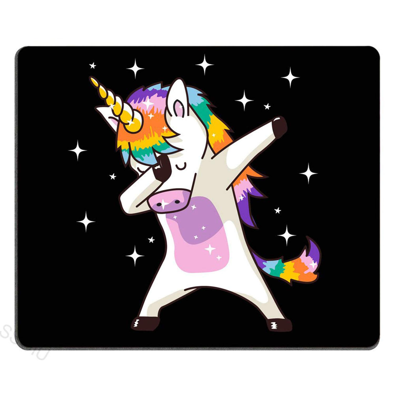 Ak168 Funny Dab Dance Dabing Unicorn Gaming Mouse Pad