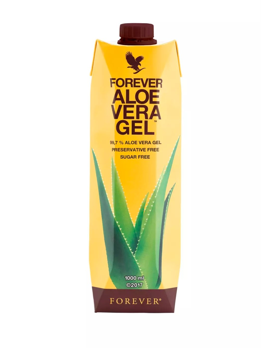 Forever Living Aloe Vera Gel - 1 L (Pack Of 2)