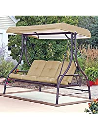 Mainstays 3 Seat Porch U0026 Patio Swing, ...