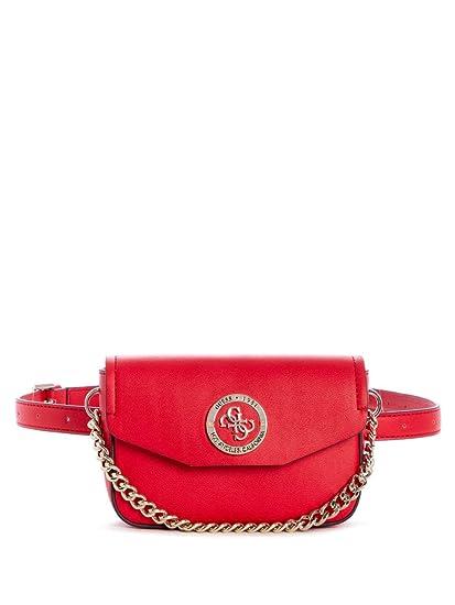 Guess Landon Women's Belt Bag Red: : Koffer