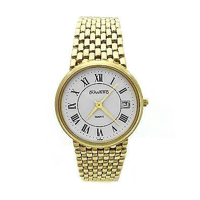 Reloj Duward oro 18k hombre panter liso cierre oculto 6324 [AB3893] - Modelo: 6324: Amazon.es: Joyería