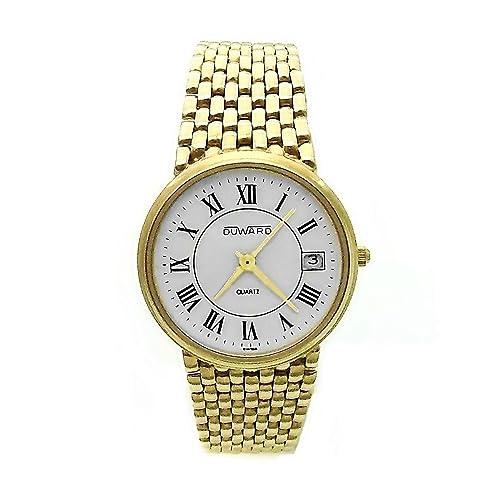 Reloj Duward oro 18k hombre panter liso cierre oculto 6324 [AB3893] - Modelo: