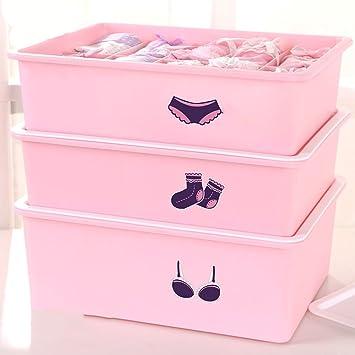 Ropa interior de ropa interior, calcetines, caja de almacenamiento, caja de almacenamiento de
