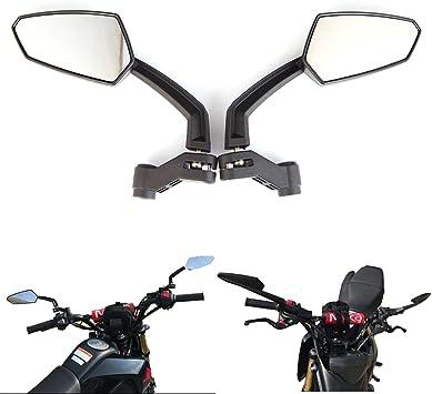 Side Mirrors Plastic For Honda Grom Kawasaki Suzuki Yamaha Rearview New Part
