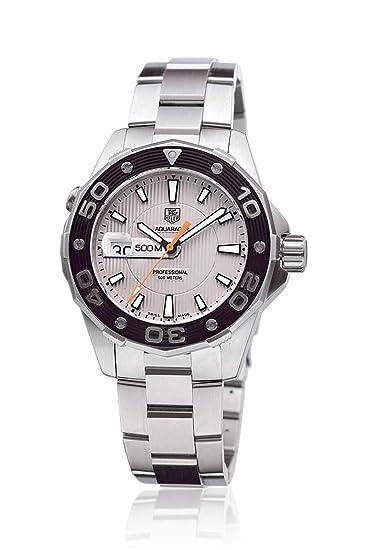 TAG Heuer WAJ1111.FT6015 - Reloj para mujeres, correa de goma color negro