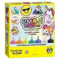 Creativity for Kids Emoji Window Art - Make Your Own Window Clings for Kids
