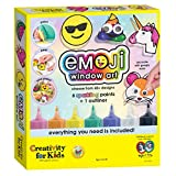 Creativity for Kids Emoji Window Paint-Create Your Own Art Kit, Multicolor