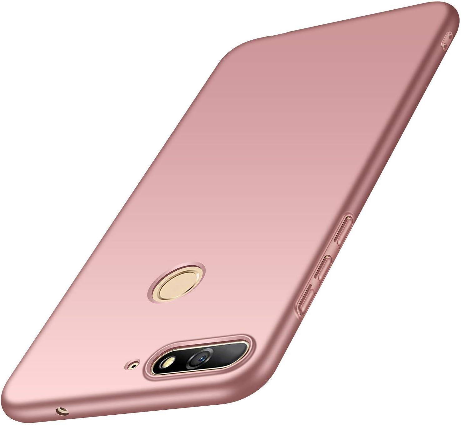 AOBOK Funda Huawei Honor 7A, Ultra Slim Anti-Rasguño y Resistente ...