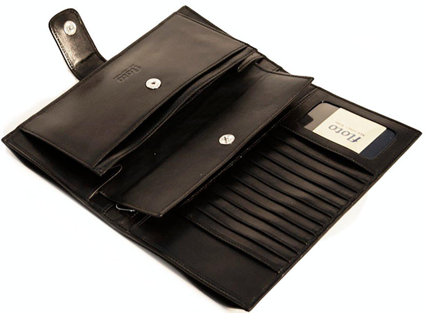 Firenze Leather Document Folder Color: Black by Floto Imports (Image #1)