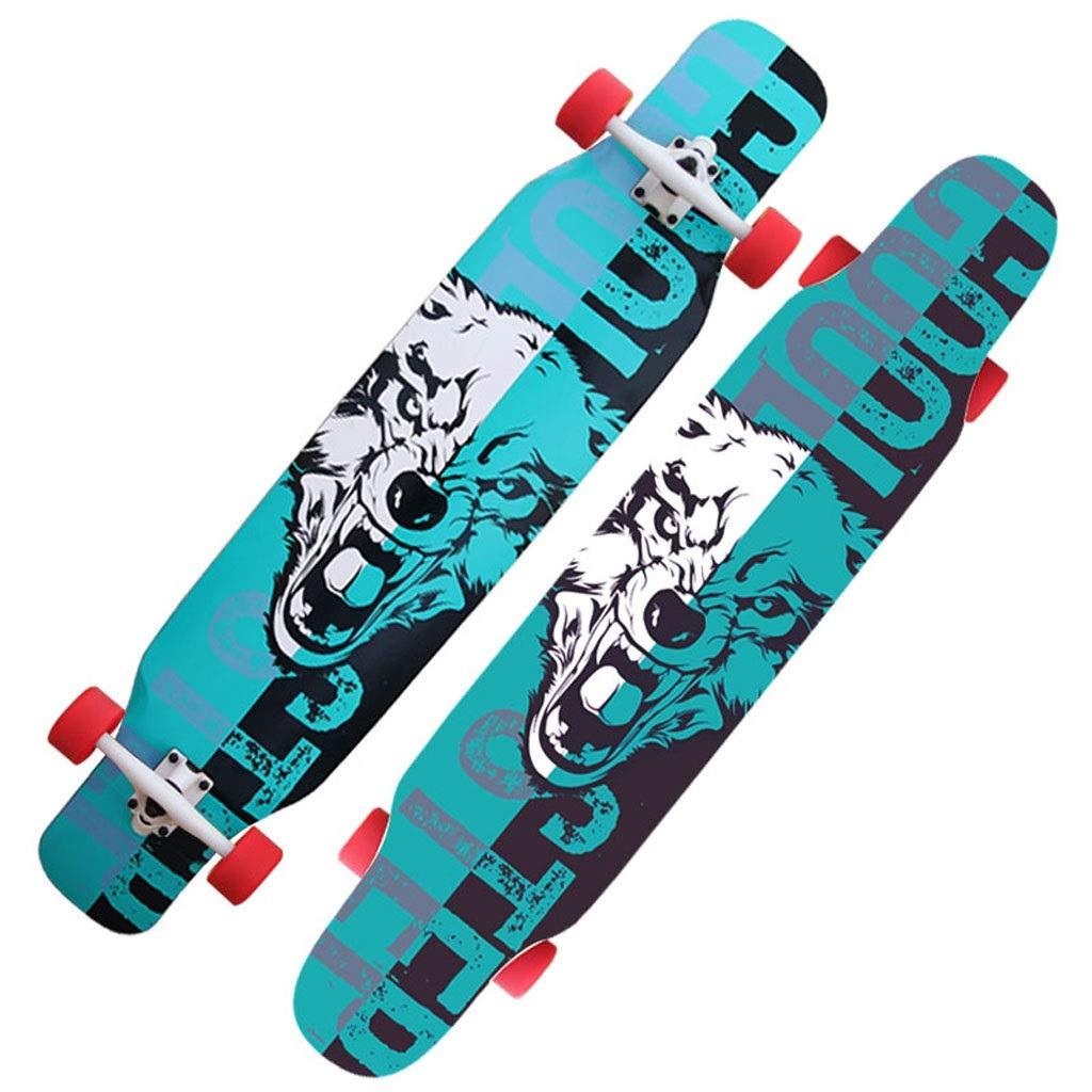 DUWEN G スケートボードメープルロングボード初心者プロスケートボード大人男の子と女の子ブラシストリートダンスボードティーン四輪スクーター : (色 : B) B07Q9K6RLH B07Q9K6RLH G g G g, サマニチョウ:6564718b --- itxassou.fr