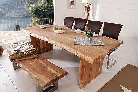Tavoli Con Tronchi Di Legno.Invicta Interior Massive Tronco D Albero Tavolo Mammut 220 Cm