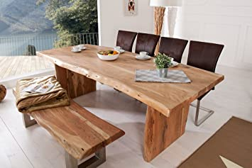 Invicta Interior Tronc D Arbre Table Mammut 220 Cm Acacia