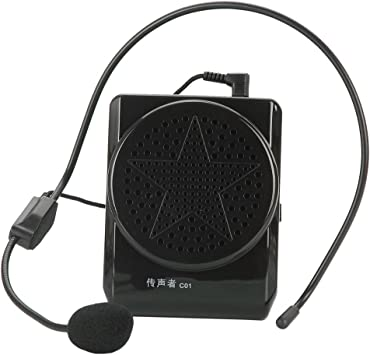 Amplificador con micrófono portátil Mini Altavoces para los Profesores/guias/Maestros/Altavoces 20W: Amazon.es: Electrónica