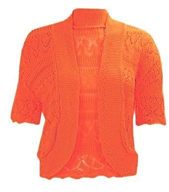 Amazon.com: Momo Fashions – Mujeres Plus Size ganchillo de ...