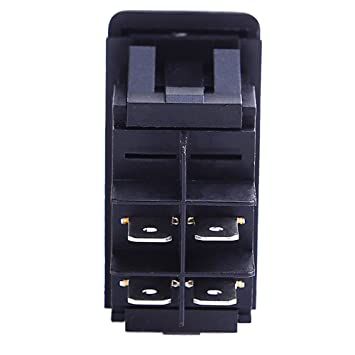 61XDK7MJvkL._SY355_ amazon com e support car marine blue led toggle switch dash 4pin soken rk1 06 wiring diagram at n-0.co