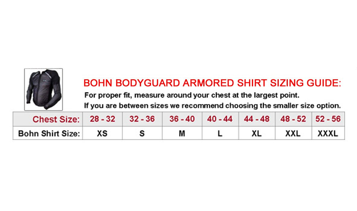 Amazon.com: Bohn Bodyguard CoolAir Armored Shirt - Large: Automotive
