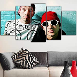 SDFRT Canvas Wall Art for Living Room 21 Celebrity Pilots Framed Canvas Art for Home Decoration Gift-200 X 100 cm Direct Suspension with Frame Christmas