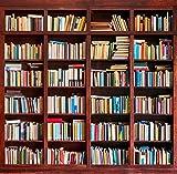 3x5ft Vinyl Bookshelf School Library Study Room Photography Studio Backdrop Background