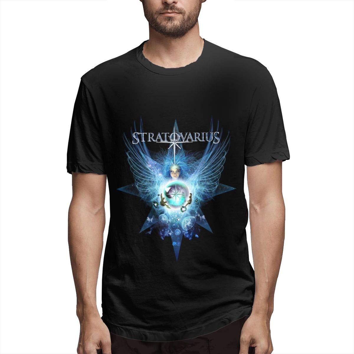 Lihehen S Stratovarius Fashion Leisure Round Neck T Shirts