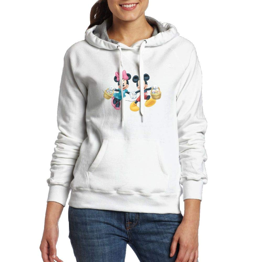 Sakanpo Cartoon Mickey Mouse Womens Hoodie Sweatshirt with Pocket
