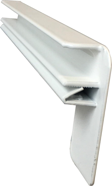 Fensterbank Putz Seitenteile 130 mm in Weiß HS24