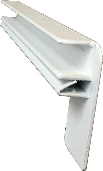 Fensterbrett 50 mm Tief Fensterbank Wei/ß Ohne Seitenteile 1200 mm Lang