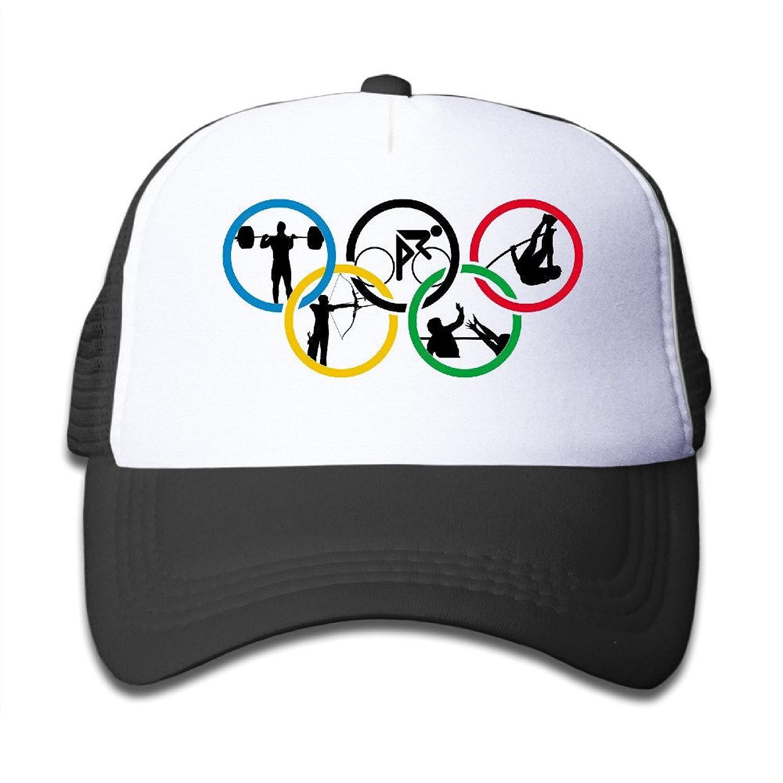 Gsyful Youth Children Kids 2016 New Rio 2016 Olympics Baseball Cap Hat Snapback SkyBlue