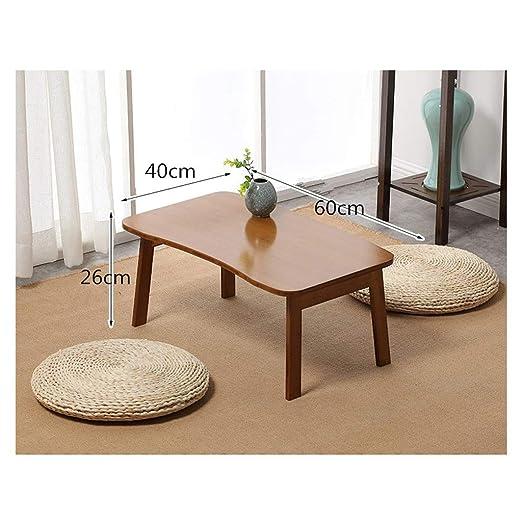NUODE-Table Mesa de bambú en la Cama Sofá Escritorio de pie ...