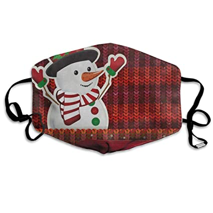 red surgical mask