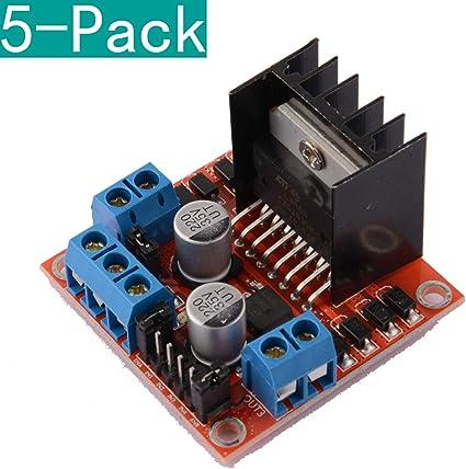 Youmile 5-Pack Dual H Bridge DC Stepper Motor Drive Controlador ...