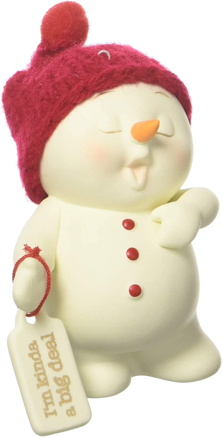 Department 56 Snowpinions Im Kind of a Big Deal Hanging Ornament Multicolor 3