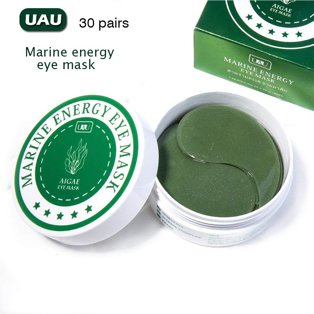 UAU Eye Treatment Mask (30 Pairs) Reduces Wrinkles and Puffiness, Lightens Dark Circles and Reduces Bags Under Eyes, Moisturizes and Anti Aging Skin