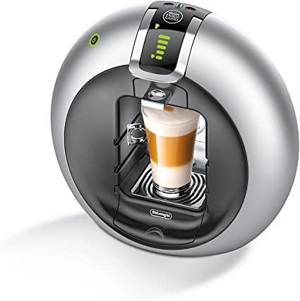 DeLonghi Dolce Gusto Circolo EDG 606.S - Máquina de café, automática, 1500 W, 1.3 L, acero inoxidable/plástico, plata: Amazon.es: Hogar