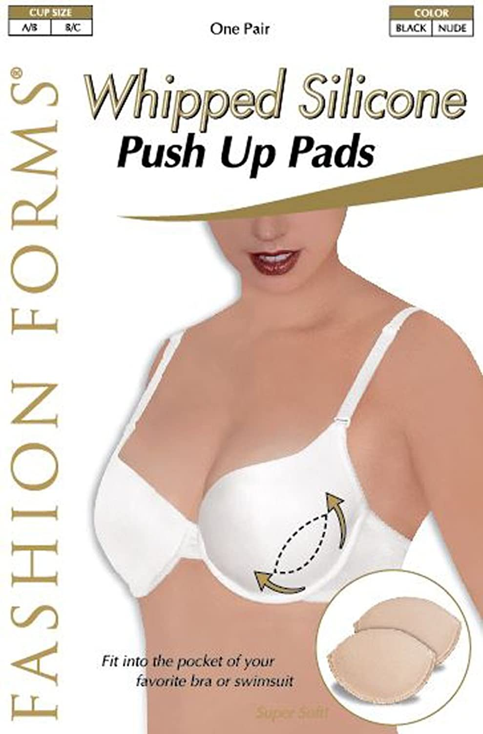 Fashion Forms Whipped Silicone Push Up Pads