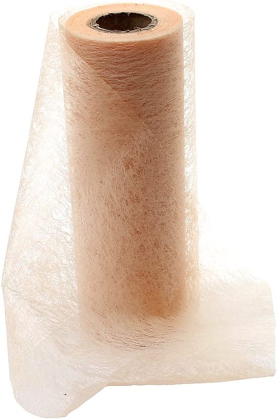 101 Bianco 23cm breit Tessuto non tessuto Nastro in tessuto non tessuto 23/cm/ bordo per tavolo /20/metri colori assortiti