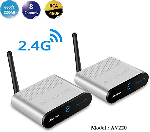 Measy Wireless Av Sender Und Empfänger Av220 Die Computer Zubehör