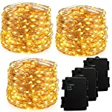 Best Rope Light For Seasonal Decoratives - DUKORA Set of 3 Outdoor Fairy lights, 20 Review