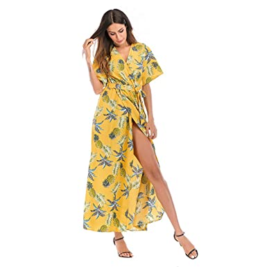 5dfed6e5f8 HITSAN INCORPORATION Beach Cover Up for Women Lace Embroidered Mesh Swimsuit  Pareo Coverup Printed Bathing Suit