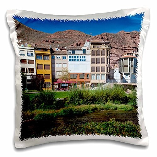 3dRose Spain, La Rioja Region, La Rioja Province, Najera - EU27 WBI0211 - Walter Bibikow - Pillow Case, 16 by 16-inch (pc_139187_1) by 3dRose