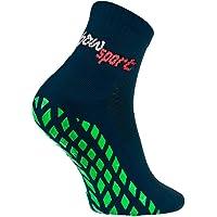 Rainbow Socks - Hombre Mujer Calcetines Antideslizantes de Deporte