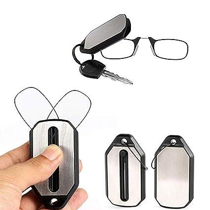 kafiGC8 - Llavero Unisex Plegable para Gafas de Lectura (1,5 2,0 2,5 3)