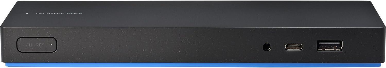 HP Elite USB-C Dock G3 - Base (Cable, USB 3.0 (3.1 Gen 1) Type-C, 10,100,1000 Mbit/s, HP, HP ChromeBook x360 11 G1 EE HP ZBook Studio G4 MWS HP ZBook 17 G4 HP ZBook 15 G4 HP ProBook x360, 90 W)