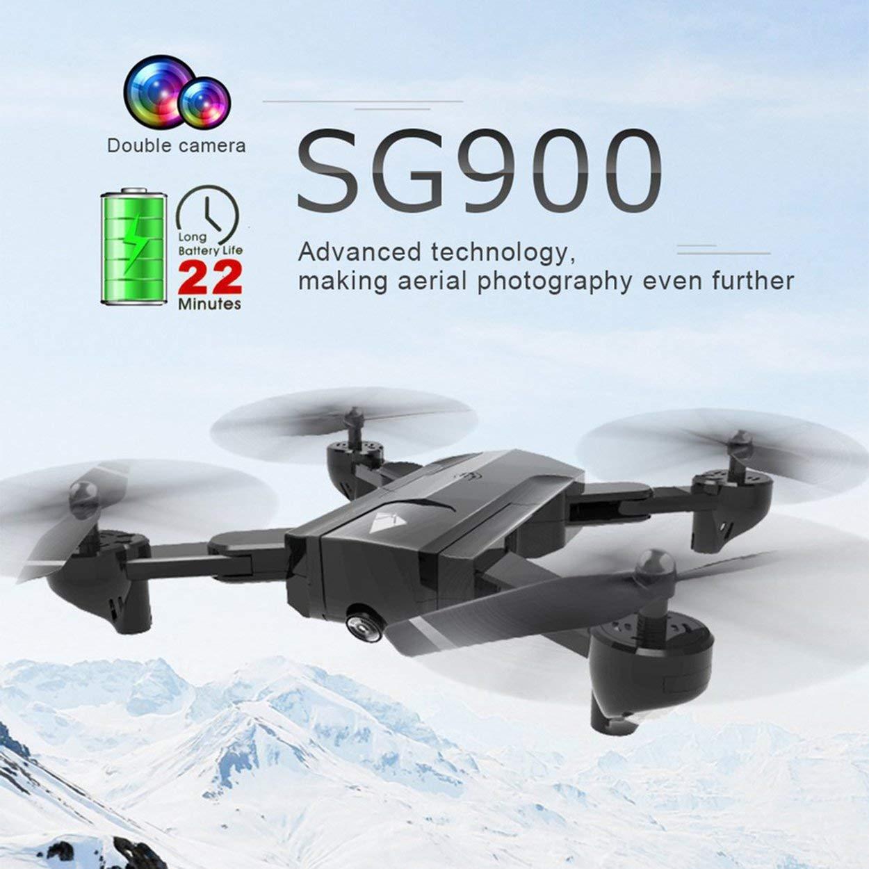 Lorenlli SG900 Plegable Quadcopter 720P Drone Quadcopter WiFi FPV ...