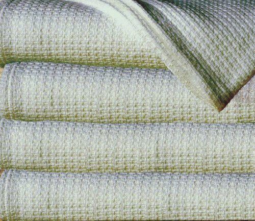 Sun Yin 100-Percent Cotton King Blanket, Light Green