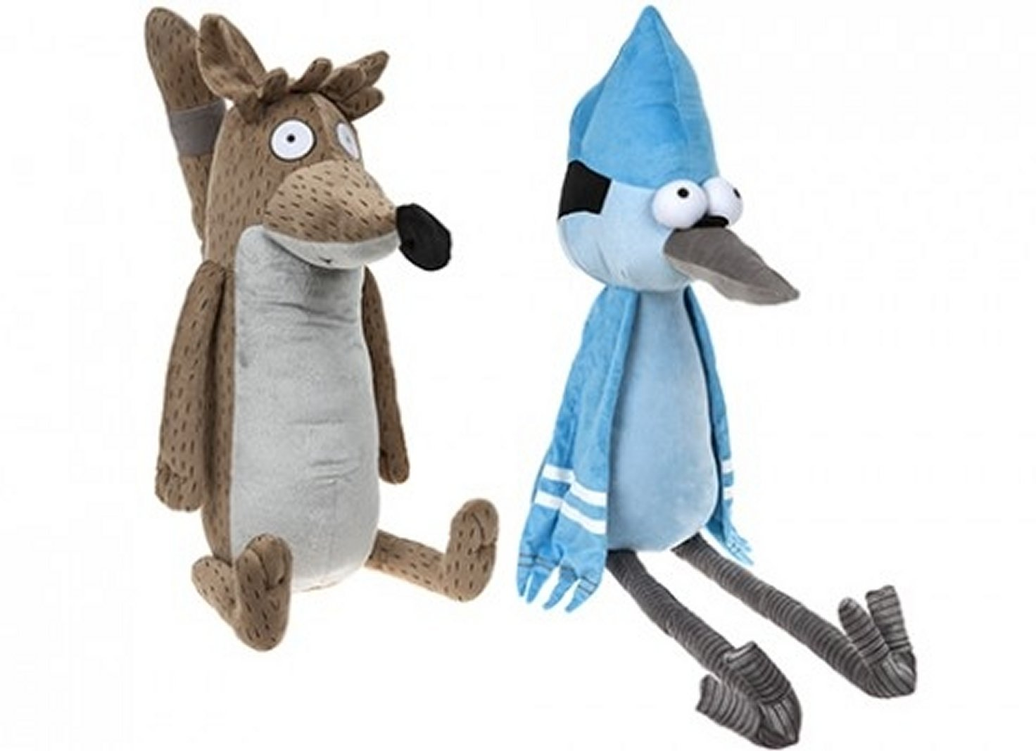 1 x Official 24 Inch Regular Show Plush soft toy Rigby or Mordecai   Amazon.co.uk  Toys   Games 723873892